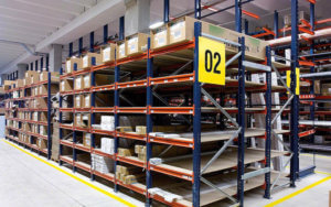 Shelving-in-warehouse