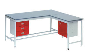Square Tube Workbench [Laminate Top with Extention] copy