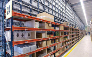 Warehouse-shelving